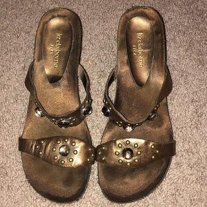 Women's liz claiborne flex shoes sandals size 6M